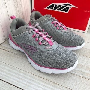 Avia Women's Avi-Factor Sneaker Gray Pink